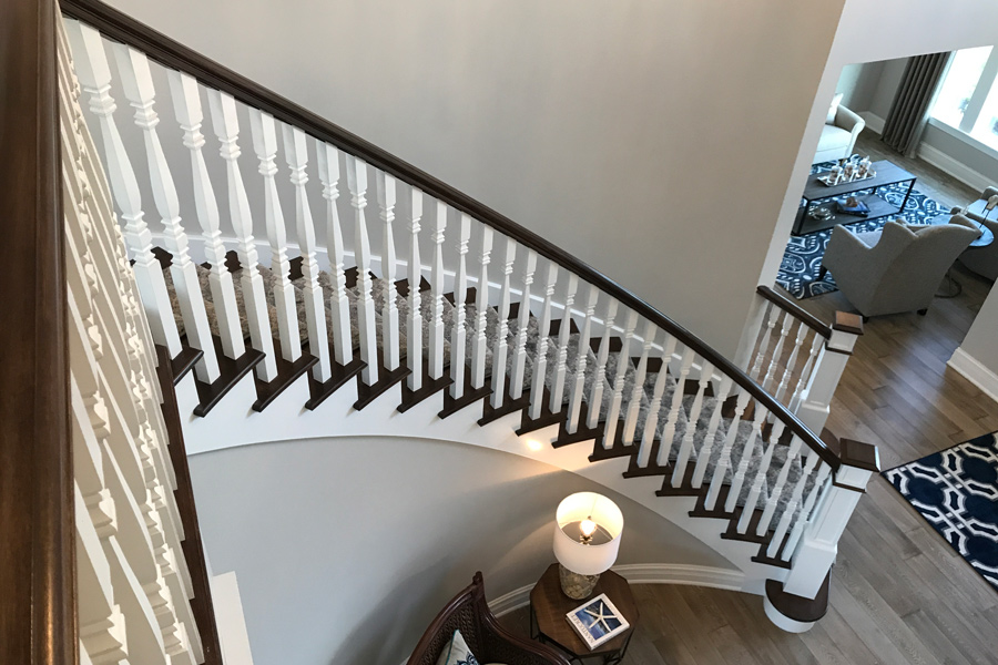staircase in house