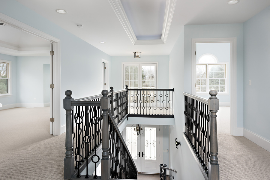 staircase in home